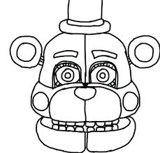 Funtime Foxy Fnaf Sister Location Amino Noticeable Coloring Pages Or