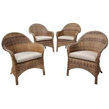 Trendy Idea Wicker Patio Chairs Target Home Arbor 4 Living Room
