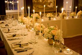 Banquet Style Table Setting