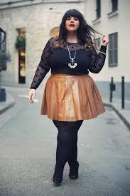 Bbw miniskirt and heels