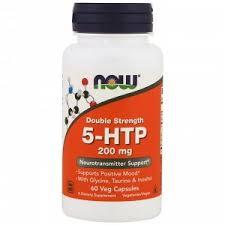 <b>5</b>-<b>HTP</b> Now Foods, <b>5</b>-<b>HTP</b>, <b>200</b> мг, 60 капсул. С глицином ...