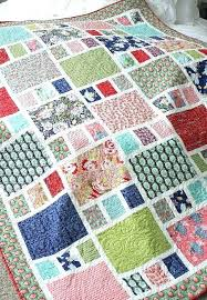 Free Easy Quilt Patterns New Amazing Simple Quilt Patterns Simple Squares Rag Quilt Pattern