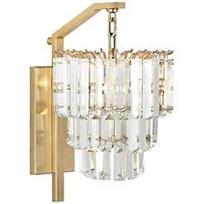 Brass bathroom light fixtures Wall Sconce Robert Abbey Spectrum 16 12 Katuininfo Brass Antique Brass Crystal Bathroom Lighting Lamps Plus