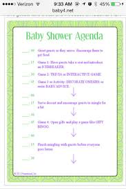 Free Printable Baby Shower Guest List Best Baby Shower Itinerary Baby Shower Ideas Pinterest Babies