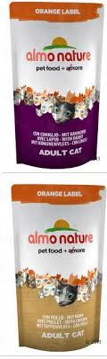 <b>Almo Nature CAT</b> Orange Label: Dry with Rabbit, Chicken, Sardines ...