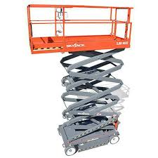 mobile scissor lift electric sjiii skyjack mobile scissor lift electric sjiii 4626 32