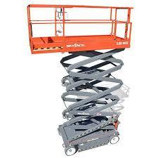 mobile scissor lift electric sjiii 4626 32 skyjack mobile scissor lift electric sjiii 4626 32