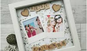diy picture frame for best friend 618 birthday images