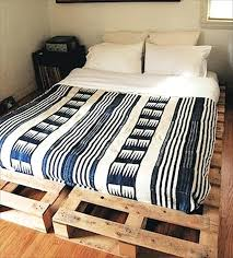pallet bed frame queen view in gallery bed frame wood pallet queen size ideas diy pallet