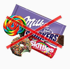 Znalezione obrazy dla zapytania słodycze sa zle