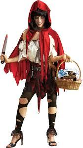 women s lil dead riding hood costume