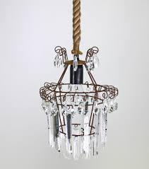 Lampe Eleganter Chalet Kristall Kronleuchter Deckenlampe Tau