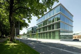 design of office building. schwbisch media certified u0027silveru0027 by the german sustainable building council design of office