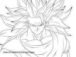 Goku Ssj3 Coloring Pages At Getdrawingscom Free For Personal Use
