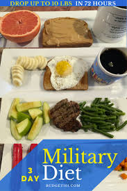 Military Diet Chart India Military Diet Lose 10 Pounds In 3 Days Guaranteed Results