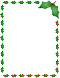 Christmas Border Clipart For Word Vectorborders Net