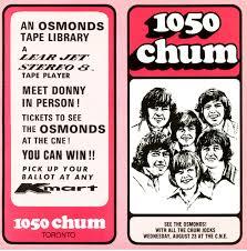 Chum Chart Summer 1972 Remembering Ivy Green Chart