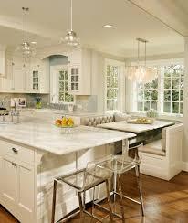 breakfast nook lighting kitchen transitional with dark floor bronze pendant lights