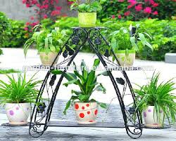 wrought iron garden decor vintage home garden decor 4 tier planter pot holder wrought iron bicycle wrought iron garden decor