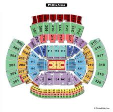 State Farm Arena Seating Chart Carrie Underwood Abiding Philips Arena Seating Chart Carrie Underwood 2019