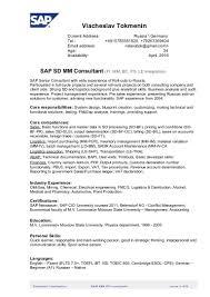 sap wm resume sample sap logistics execution consultant cv sap sd sap sd resume sample sap hr payroll consultant resume