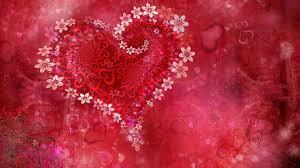 s love heart flowers