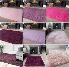 soft fluffy gy baby pink purple girls rugs small large nursery new mat