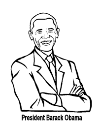 Small Picture Free printable President Barack Obama facts and coloring picture