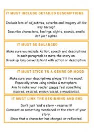 Building A Story   Creative Writing Outline   Use the boxes below