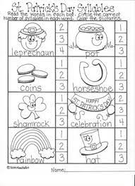Discover learning games, guided lessons, and other interactive activities for children. St Patrick S Day Kindergarten Language Arts Worksheets By Noodlzart