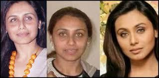 actress rani mukherji without make up photo