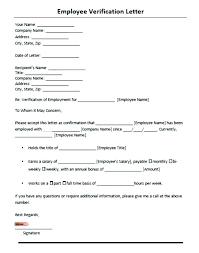 Request Employment Verification Letter Employment Verification Request Form Template Request Form