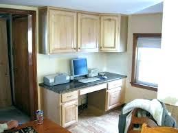 office in kitchen. kitchen computer desk austinonabike com within cabinets plan 18 office in