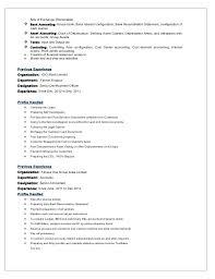 Bank Reconciliation Resume Format Professional Reconciliation