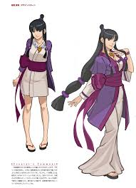according to the official spirit of justice visual book maya might be hiding cleavage thats parable to her sister