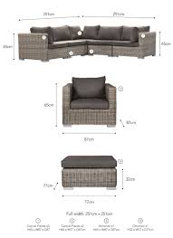 furniture corner pieces. The Generous Marden Corner Sofa Set Has Been Crafted In PE Rattan And Provides Ample Seating For Summers Garden. Furniture Pieces