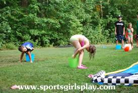 outdoor water games for kids. Water Balloon Toss With A Twist Outdoor Games For Kids M