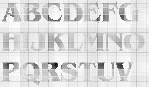 34 Clean Knitted Alphabet Charts