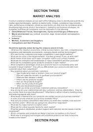 Sample Business Plans Templates Market Research Business Plan Template Business Plan Template