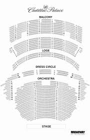 Cadillac Palace Theatre Chicago Illinois Seating Chart Cibc Theater Map King Theater Brooklyn Seating Chart United