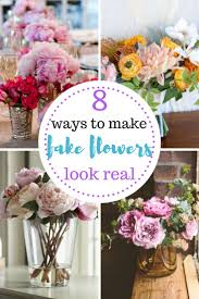 Small Picture Best 25 Fake flowers decor ideas on Pinterest Fake flowers