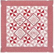 Free Downloadable Quilt Patterns & Pinwheel Posies Free Quilt Pattern by Robert Kaufman Fabrics,