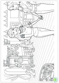 Bargain Barbie A Fashion Coloring Pages To Print Image For Kids Free