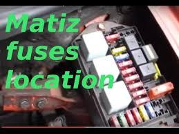 daewoo matiz fuses and diagnostic socket location youtube 2004 Daewoo Matiz daewoo matiz fuses and diagnostic socket location