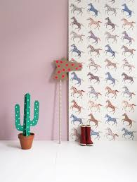 Studio Ditte Paarden Behang Horses Wallpaper Behang Voor Een
