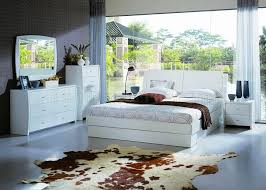 Contemporary Bedroom Set Palermo Wenge