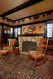 arts crafts style furniture craftsman home interior paint colors and dining room lighting for living rugs interiors craft oak at stickley rug s carpet
