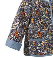 FLORAL PRINT QUILTED JACKET - Coats - Baby girl (3 - 36 months ... & FLORAL PRINT QUILTED JACKET - Coats - Baby girl (3 - 36 months) - Adamdwight.com