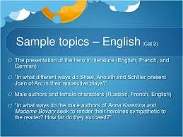 choosing a topic ltbr gt  sample topics