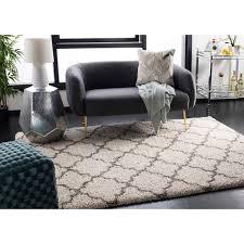 safavieh hudson quatrefoil ivory grey large area rug 11 x 15